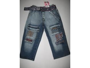 брюки джинс флис № 0812 малыши