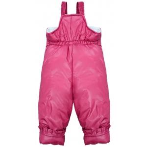 Комбинезон-конверт снеговик темно розовый