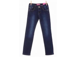 Брюки джинс девочка флис №23287