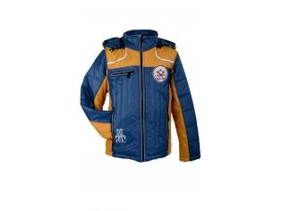 Куртка мальчик №07 голубая