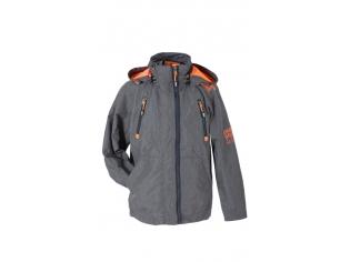 Ветровка мальчик №F-09 с оранжевым