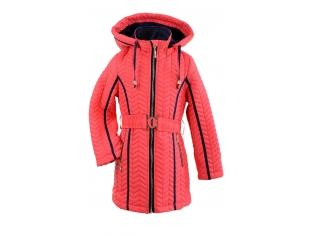 Куртка девочка №6601 красная