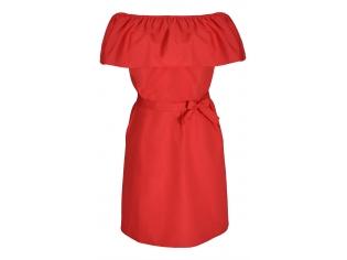 Платье детское № 146 красный