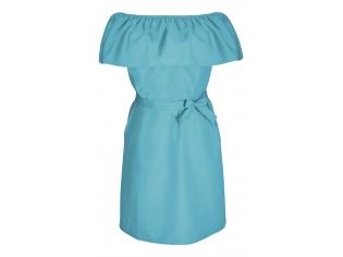 Платье детское № 146 голубой