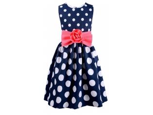 Платье № 1555 синее