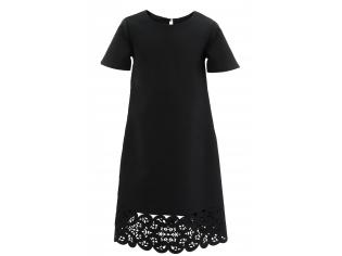 Платье № 1595 черное