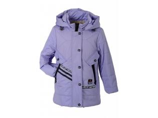 Куртка девочка №66-323 сиреневая