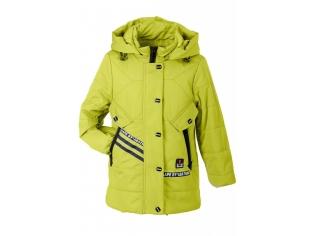 Куртка девочка №66-323 лимонная