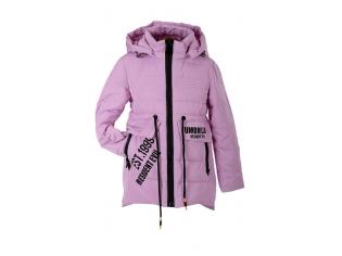 Куртка девочка №88-02 розовая