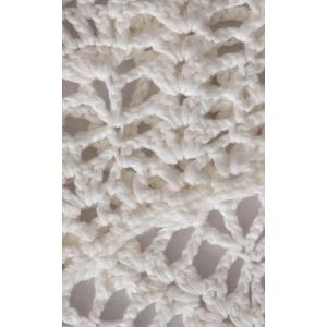 Платье детское вязаное №G02 белое