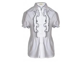 Блузка школьная №6114А
