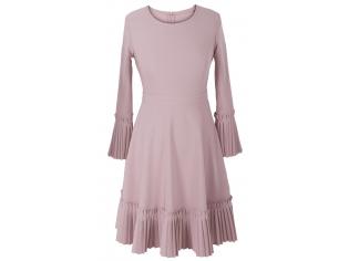 Платье детское № 1697-2 пудра
