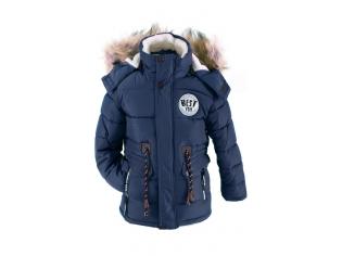 Куртка мальчик №A68 синяя