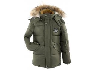 Куртка мальчик №6-705 оливковая