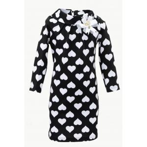 Платье № 1519 черное