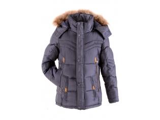 Куртка мальчик №16H-10 синяя