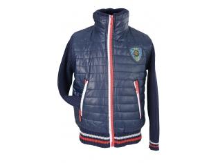 Куртка мальчик №18401-2010 синяя