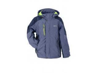 Куртка мальчик №6-626 с салатовым