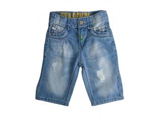 Джинсовые шорты мальчик №27086-2 маленькие