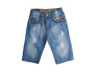 Джинсовые шорты мальчик №27086-5 большие
