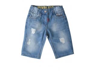 Джинсовые шорты мальчик №27086-3 маленькие