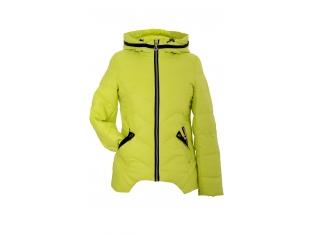 Куртка девочка №66-275 желтая