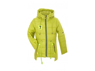 Куртка девочка №66-281 желтая