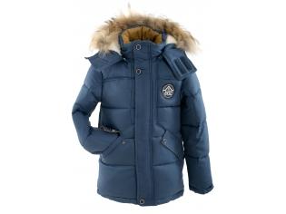 Куртка мальчик №6-705 голубая