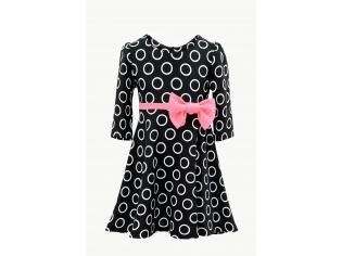 Платье № 1573 черное