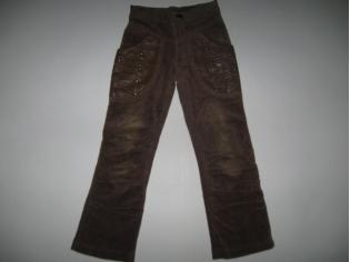 брюки вельвет № 2142 тёмные РАСПРОДАЖА