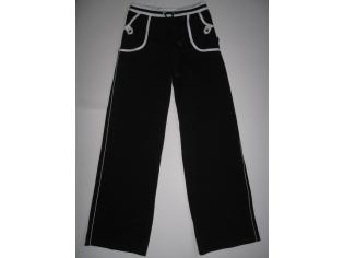 брюки спортивные №07576 чёрные РАСПРОДАЖА