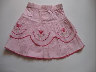 юбка бабочка розовая уценка