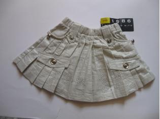 юбка №04090 светлая (опт - скидка 35%) РАСПРОДАЖА