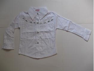 блуза белая № 1016 РАСПРОДАЖА