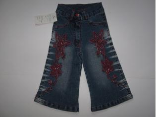 брюки джинс К03 красные (опт - 35% скидка) РАСПРОДАЖА