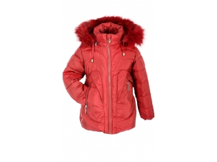 Куртка девочка №DL-9H красная