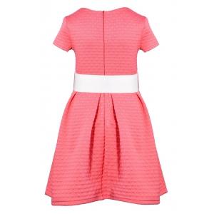 Платье № 1542 коралл