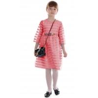 Платье № 15712 коралловое