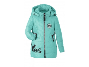 Куртка девочка №88-10 бирюзовая