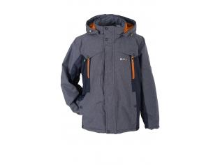 Куртка мальчик №6-665 с оранжевым