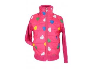 Куртка девочка №73005-2002 розовая