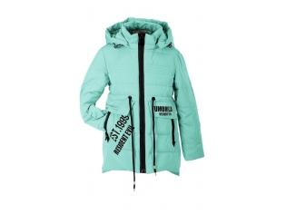Куртка девочка №88-02 бирюзовая