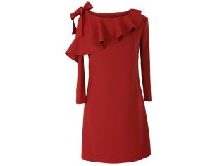 Платье детское № 1696-2 красное