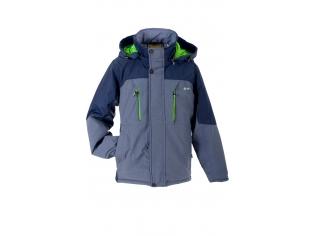 Куртка мальчик №6-629 с салатовым