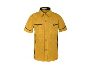 Рубашка мальчик №80 желтая