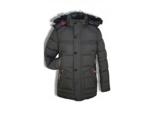 Куртка мальчик №B-128 черная
