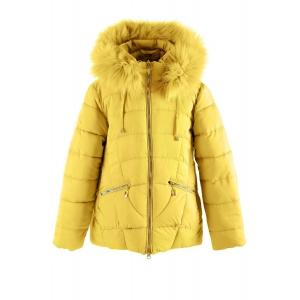 Куртка девочка №HM-5 желтая