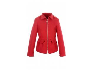 Пальто девочка № 3006S красное