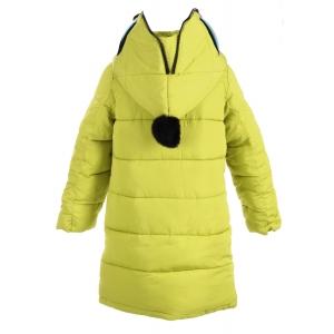 Куртка девочка №66-288 желтая