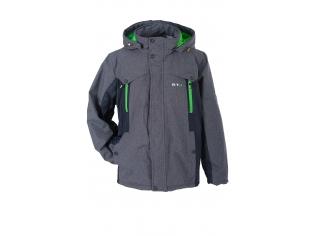 Куртка мальчик №6-665 с салатовым